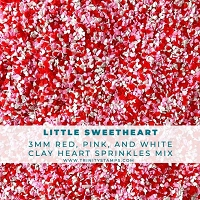Little Sweethearts Tiny Heart Sprinkles Mix