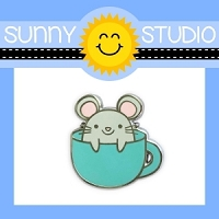 MOUSE IN MUG PIN