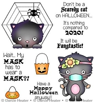 Scary Halloween Clear Stamp Set