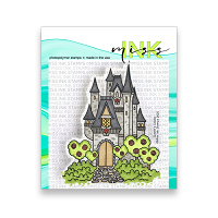 Queen's Castle Clear Stamp