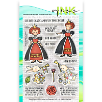Queen of Hearts Clear Stamp
