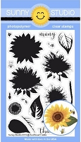 SUNFLOWER FIELDS STAMPS