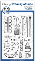 Artist Toolkit Clear Stamps