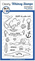 Mermaid Escape Clear Stamps
