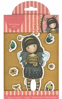 Docrafts Santoro Gorjuss Rubber Stamp Bee-Loved