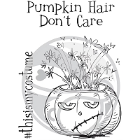 Pumpkin Hair Don't Care 3x4
