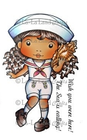 Natical Marci Rubber Stamp