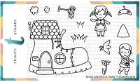 Shoe Sprites Stamp Set