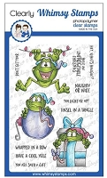 Mistletoads Clear Stamps