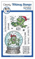 Toadally Snowy Clear Stamps