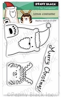 Xmas Costumes Clear Stamp