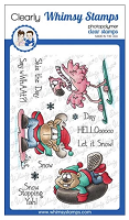 Winter Sports Clear Stamps
