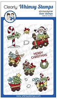 Santa's Train Clear Stamps