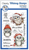 Happy Owlidays Too Clear Stamps