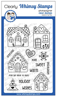 Gingerbread Greetings Clear Stamps
