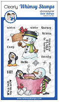 Frosty Wishes Clear Stamps