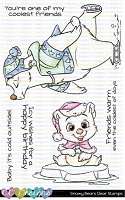 SNOWY BEARS CLEAR STAMP SET