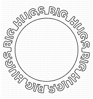 Big Hugs Circle Frame Die-namics WS