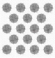 Crosshatch Polka Dot Background WS