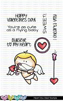 HEART YOU CLEAR STAMP SET