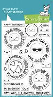 reveal wheel circle sentiments stamp
