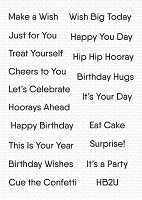 Little Birthday Notes WS