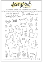 Way To Goat | 6x8 Stamp Set