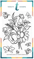 4x6 Blooming Bunch Stamp Set