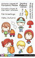 AUTUMN CLEAR STAMP SET