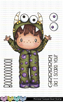 MONSTER SWISSIE CLEAR STAMP SET