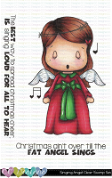 SINGING ANGEL SWISSIE CLEAR STAMP SET