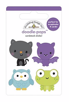Boo Crew DB Pops 3D Stickers