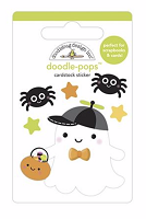Little Boo DB Pops 3D Stickers