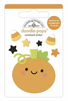 Roly Poly Pumpkin DB Pops 3D Stickers