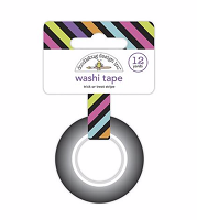 Trick Or Treat Stripe DB Washi Tape