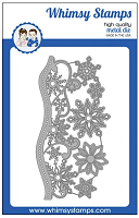 Elegant Snowflakes and Border