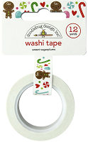 Doodlebug Night Before Christmas Washi Tape - Sweet Sugarplums