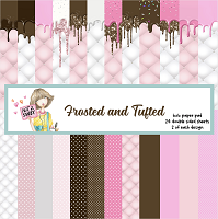 Frosted and Tufted 6X6 Paper Pad - N2S
