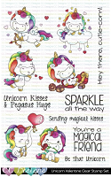 UNICORN FRIENDS CLEAR STAMP SET