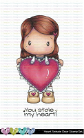HEART SWISSIE CLEAR STAMP SET