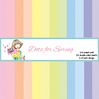 Dots for Spring 6X6 Paper Pad - N2S