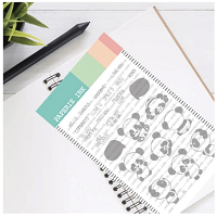 Panda Expressions - Paperie Ink Clear Stamp