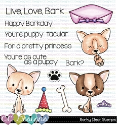 Barky Clear Stamps