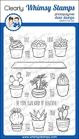 Sweet Succulents Clear Stamps