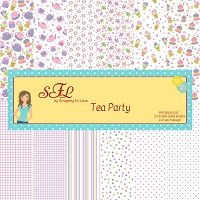 Tea Party 6X6 Scrapping for Less Paper Pad