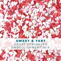 Sweet & Tart Heart Sprinkle Embellishments
