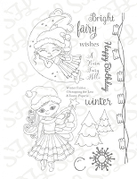 Winter Fairies - SFL Clear Stamp