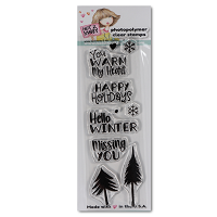 Winter Sentiments 2X6 Clear Stamp - N2S