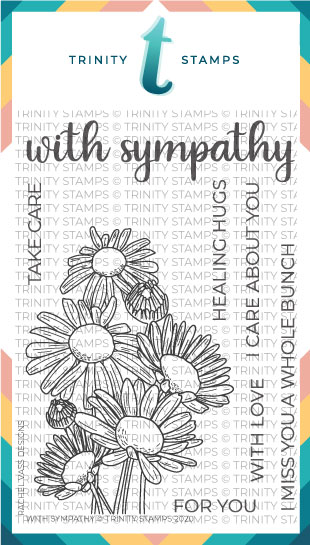 "With Sympathy - 4x6"" Stamp Set"