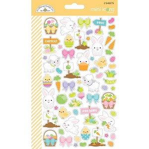 Hoppy Easter Doodlebug Mini Cardstock Stickers
